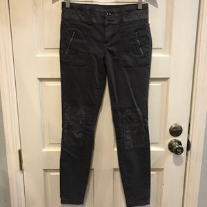 Anthropologie Pilcro and The Letterpress Moto Jean